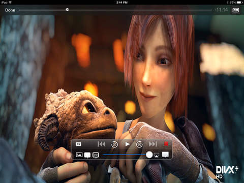 how to play flv files on iphone