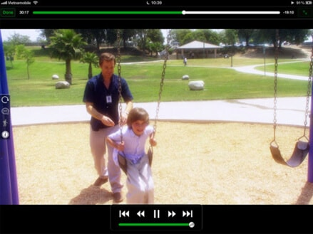iPhone FLV player