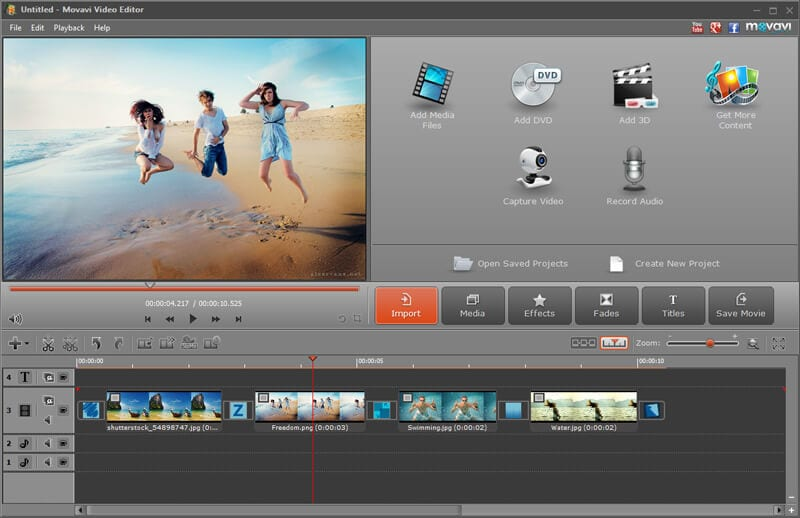Top 5 Free Online Video Editor With Effects