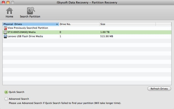 partition data recovery for mac guide