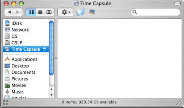 searching for time machine backups