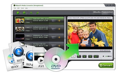 Import DVD and Video in Any Format