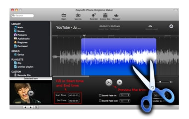 iSkysoft iPhone Ringtone Maker for Mac