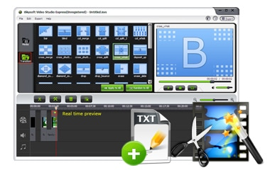 Intuitive and Versatile Video Editor
