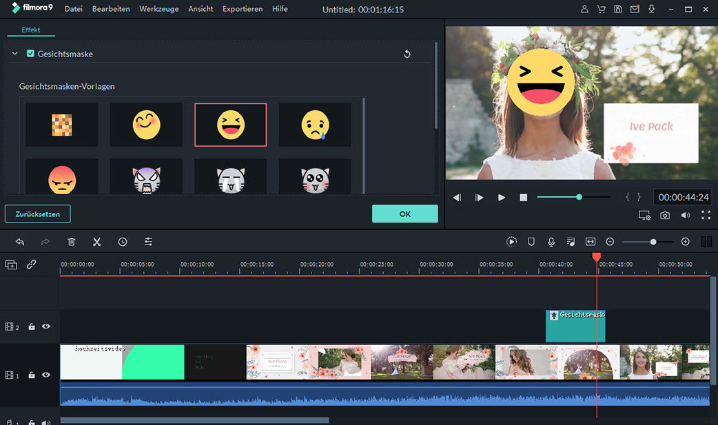 face changer video editor