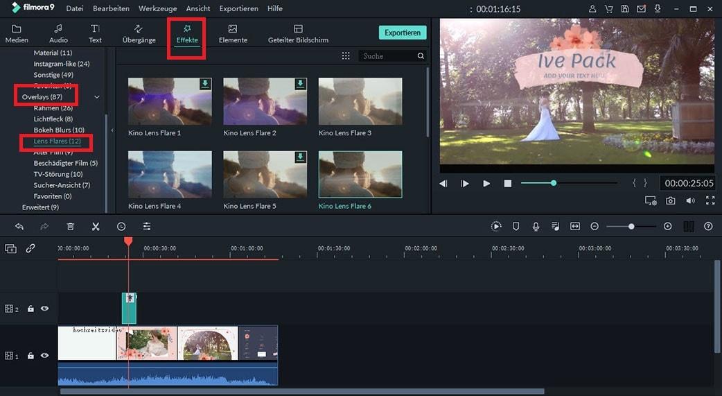 Kostenlose Lichtleck & Lens Flare Overlays für die Erstellung Ihres nächsten Videos