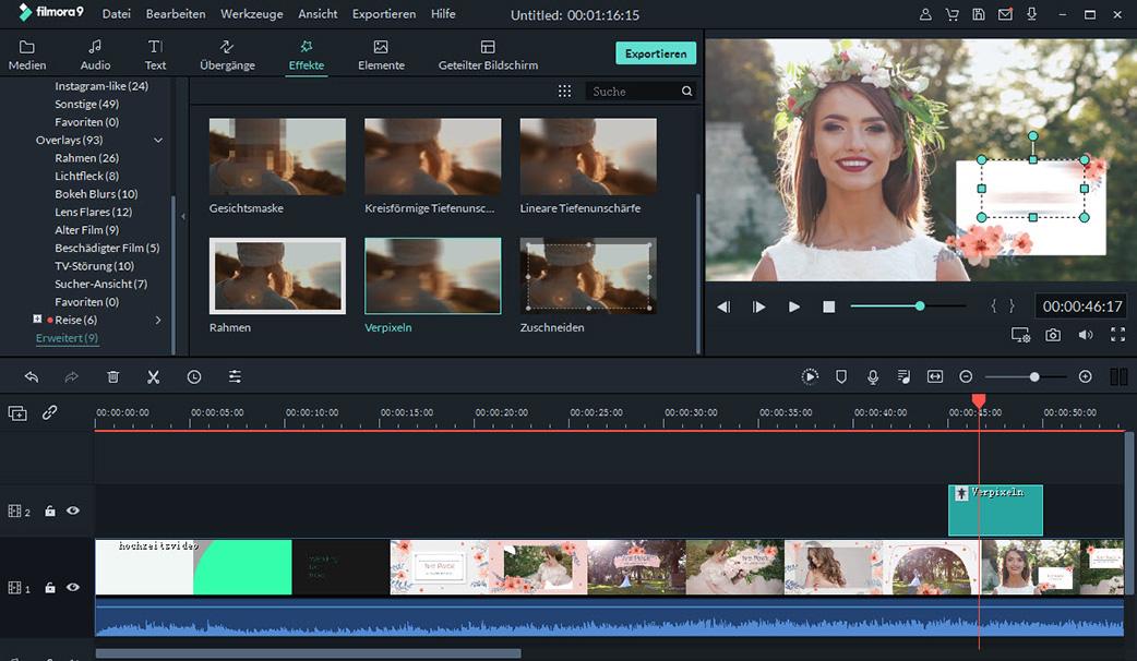 video mosaik editor