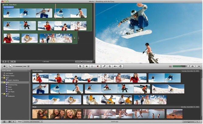 how to edit a video on imovie