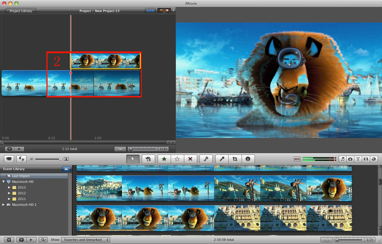 how to get videos on photos to imovies