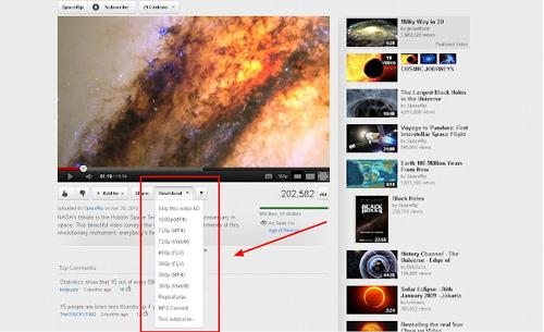 download free music, video, etc. using on chrome