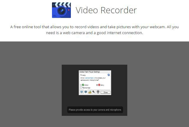 Top 10 Online Video Recorder Free No Download