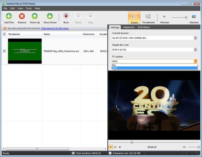 Free dvd movie burning software downloads