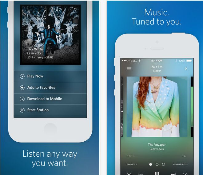 20 Free Music Apps for iPhone