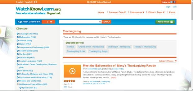 Top 10 Sites to Watch Thanksgiving Videos for Free