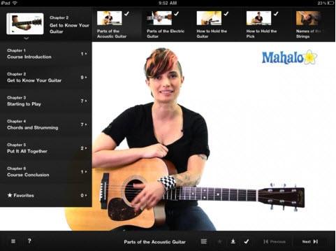 iPad guitar