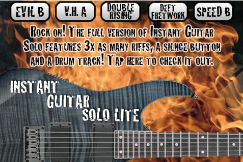 free iPad guitar