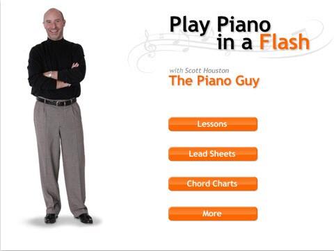iPad piano