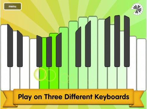 play iPad piano