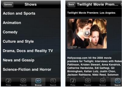 free iPad video app