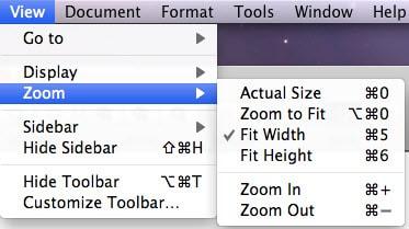 zoom pdf mac