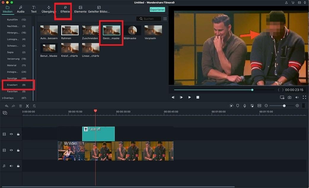 [Tutorial] Wie macht man Gesichter in iMovie unscharf?