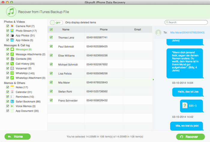 data recovery for itunes guide