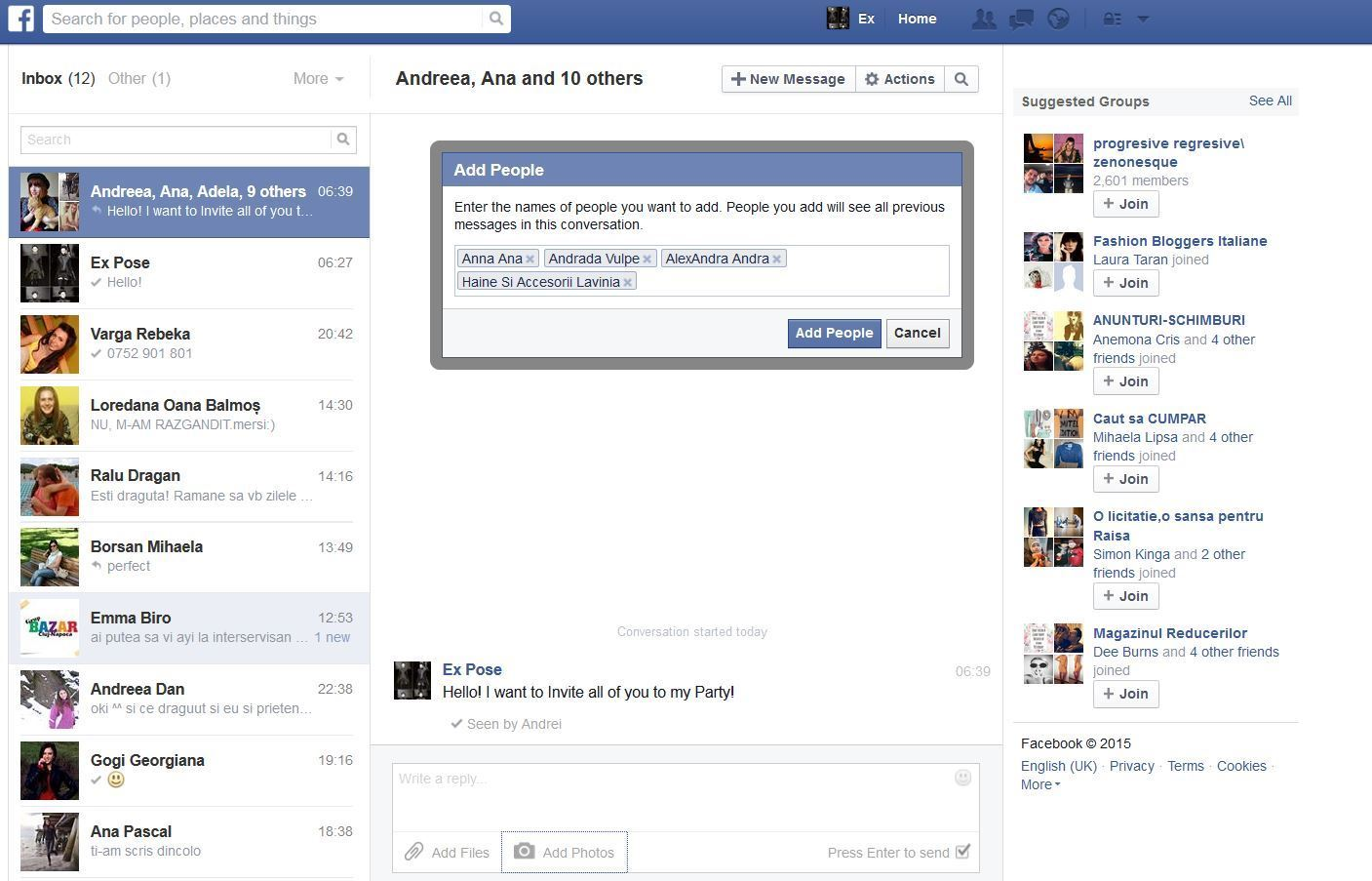 ... to Send Facebook Messages, Photos and Videos to All Facebook Friends