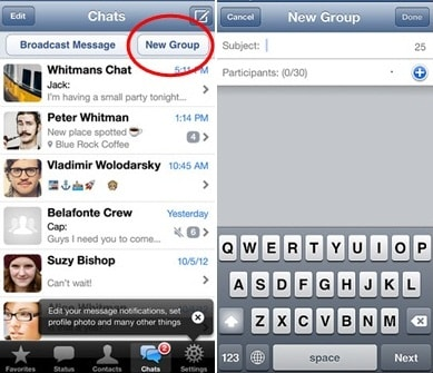 how to add a picture to a whatsapp group