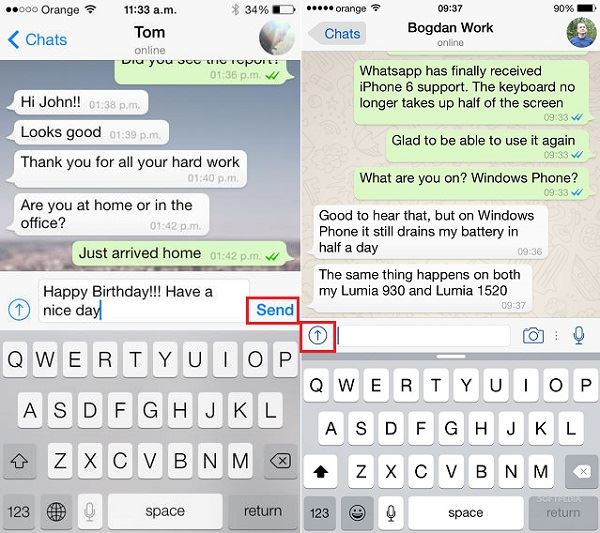 How to Use WhatsApp for iPhone