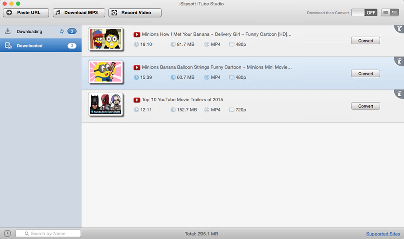 convert YouTube to iTunes