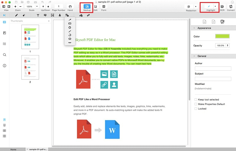 modify pdf documents