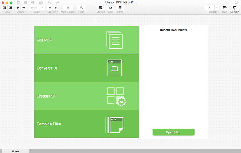 convert PDF Files on Yosemite