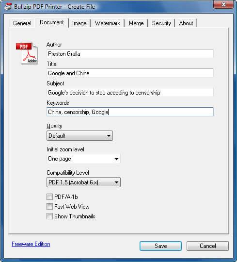 Pdf принтер windows - фото 10