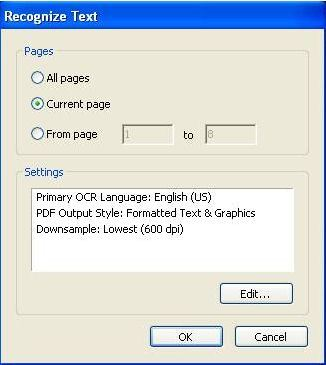 Free Online OCR - convert PDF to Word or Image to text