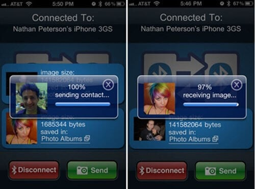 Connect iPhone to iPad via Bluetooth