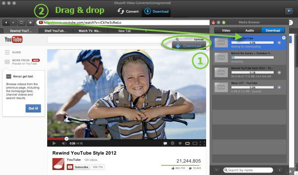 download video to convert