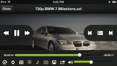 flv player for ipad