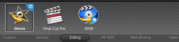 Convert camera video to idvd