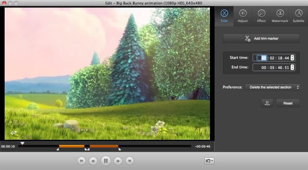 iSkysoft Video Converter for Mac Screenshot