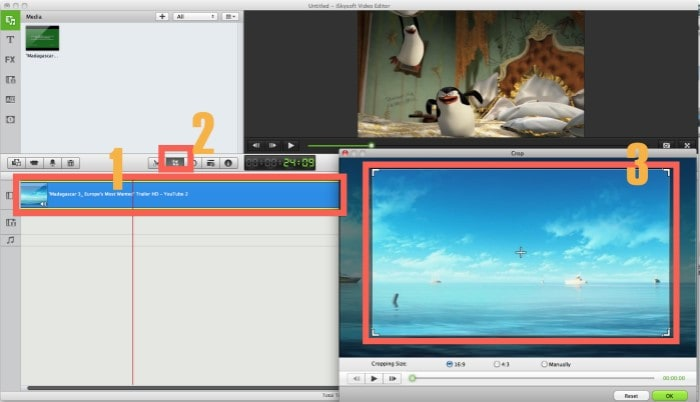 Video cropping software free