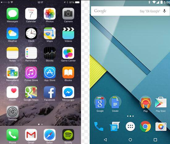 Android Vs Iphone Which Phone Is Better Iphone Or Android