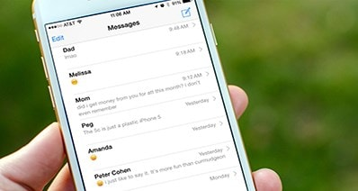 The Best Way to Transfer Text Messages from iPhone to iPhone or to Computer