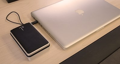 how to delete files from external hard drive mac