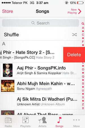 how to put songs from iphone to mac