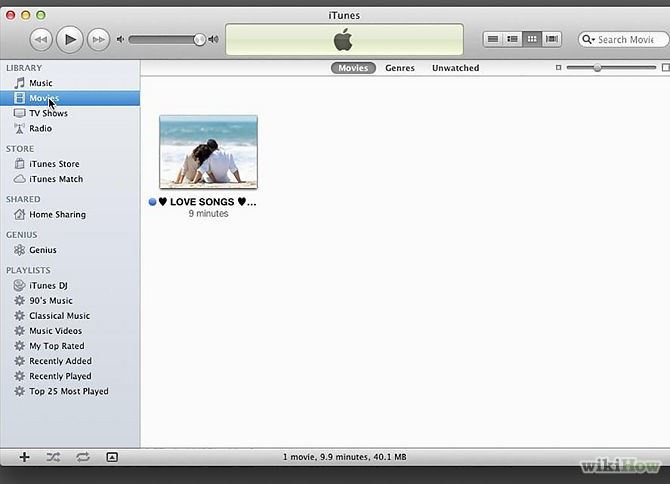 How to Burn iTunes Movies to DVD for DVD Player and