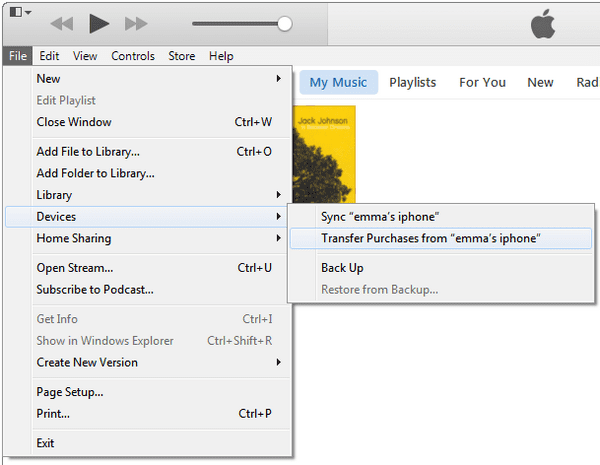 How to Transfer iTunes Purchases
