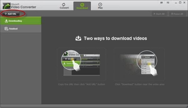 iSkysoft Video Converter Screenshot