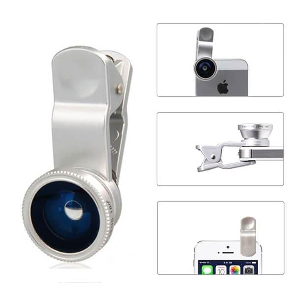 Aerb 3-in-1 Fisheye Camera lens