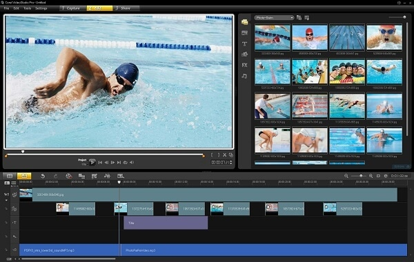 music video software Corel VideoStudio