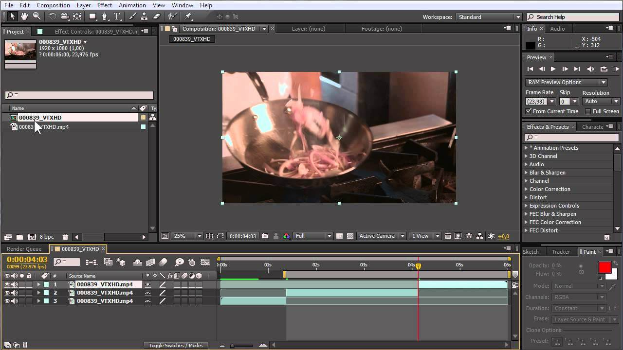 How to Crop Video in After Effects without Problems